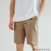 【GIORDANO】男裝扣帶工裝短褲 - 87 鉛灰