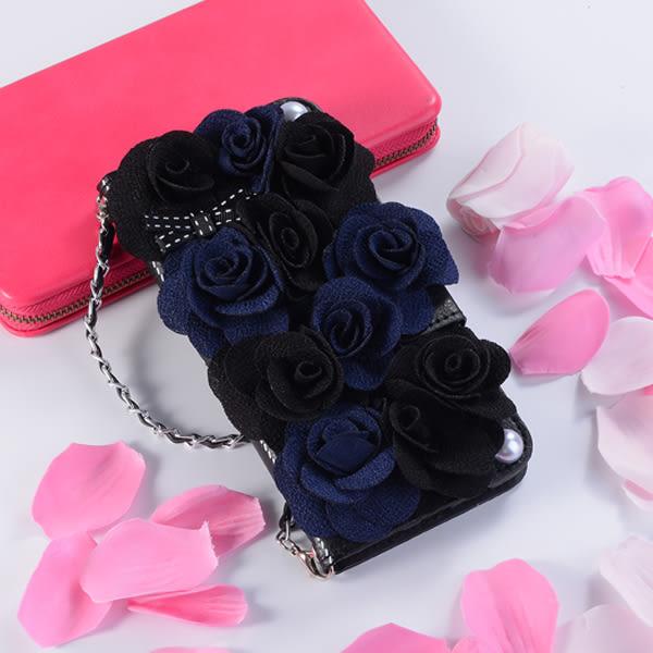 OPPO R17 Pro R15 Pro PZ 黑玫瑰皮套 手機皮套 皮套 掛繩 吊飾