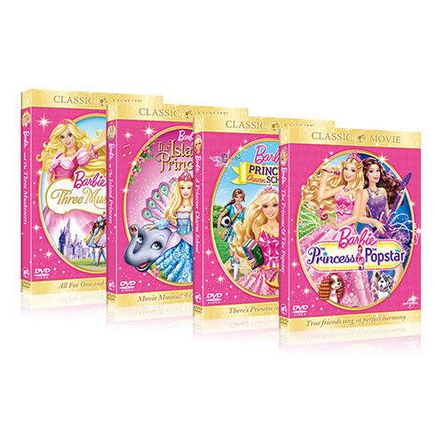 芭比公主系列合輯 DVD (購潮8)