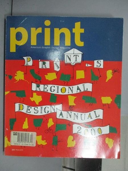 【書寶二手書T7/設計_QFU】Print s Regional Design Annual 2000