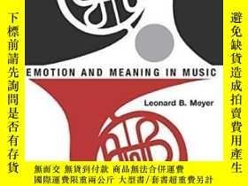 二手書博民逛書店Emotion罕見And Meaning In MusicY25