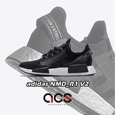 【五折特賣】adidas 休閒鞋 NMD_R1 V2 W 黑 銀 女鞋 運動鞋 襪套式 【ACS】 FW5449