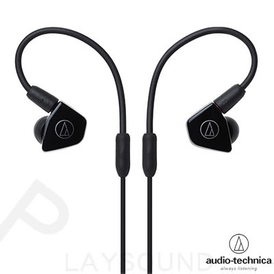 鐵三角 ATH-LS50 黑色 可拆式導線 雙動圈 耳道式耳機