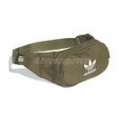 adidas 腰包 Essential Crossbody Bag 綠 白 男女款 運動休閒 斜背包 【ACS】 ED8680