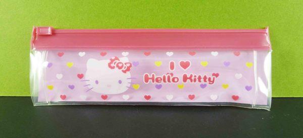 【震撼精品百貨】Hello Kitty 凱蒂貓~牙刷膏組-臉愛心圖案附袋