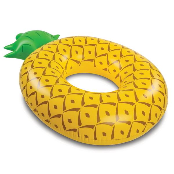 美國 Big Mouth 造型游泳圈 鳳梨款