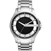 【人文行旅】A/X Armani Exchange | 亞曼尼 AX2179 簡約休閒方塊腕錶 54mm