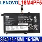 LENOVO L18M4PF5 4芯 電池 L18L4PF4 IdeaPad S540-15IML IWL
