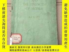 二手書博民逛書店atomic罕見structure and the strength of metals(P1460)Y173
