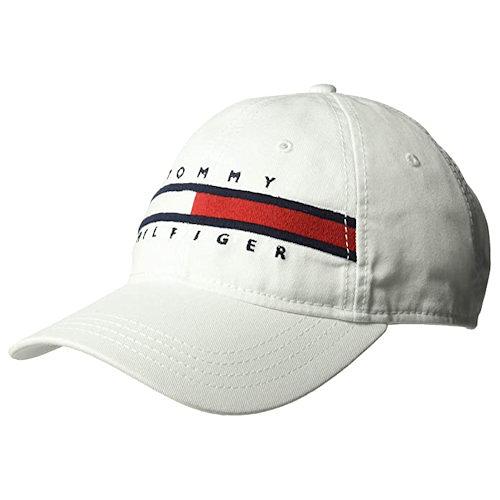 Tommy Hilfiger 湯米Avery棒球帽(白色)