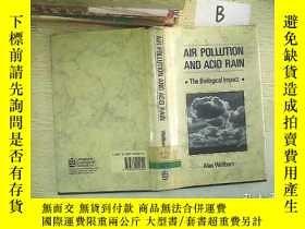 二手書博民逛書店AIR罕見POLLUTION AND ACID RAINY261
