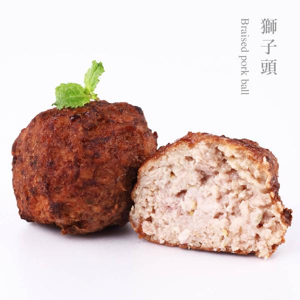 果貿吳媽家【眷村紅燒獅子頭1盒/5顆裝】