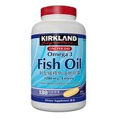 Kirkland Signature 科克蘭 新型緩釋魚油軟膠囊 180粒 (2包裝)