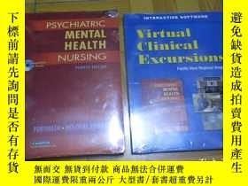 二手書博民逛書店Psychiatric罕見Mental Health Nursing(4th Edition) 【有副刊,2本合售