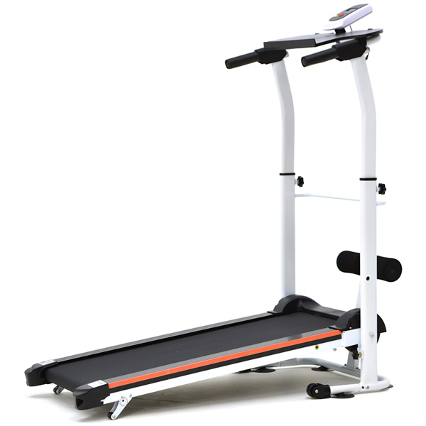 2坡度!!雙飛輪跑步機美腹機健腹機健腹器摺疊收納非電動運動健身器材健走機散步機美腿機小迷跑
