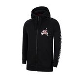 NIKE服飾系列-JUMPMAN CLASSIC FZ 男款黑色長袖帽T-NO.CK2224010