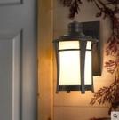 超實惠 壁燈 簡約戶外壁燈防水外牆大門口庭院燈花園露台牆燈別墅陽台室外燈 2色可選W8025
