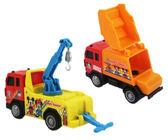 【卡漫城】 米奇 迴力車 2選1 ㊣版 米老鼠 米妮 唐老鴨 玩具車 模型車 高飛 Mickey 黛西 垃圾車