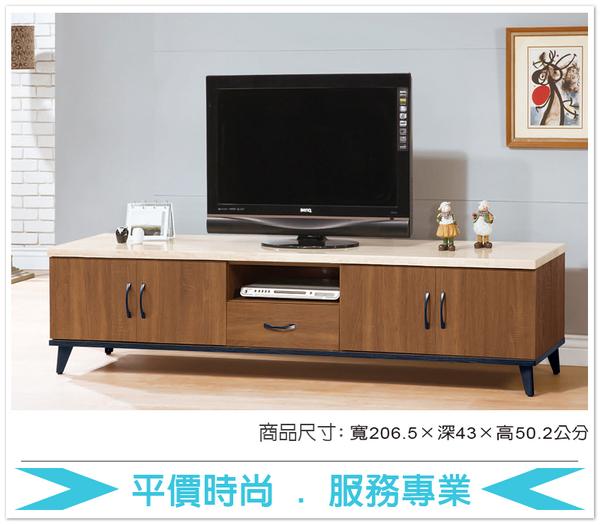 《固的家具GOOD》611-6-AT 喬伊淺胡桃7尺電視櫃【雙北市含搬運組裝】
