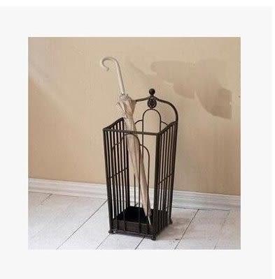 雨傘桶熱賣歐式鐵藝家用雨傘架酒店【藍星居家】