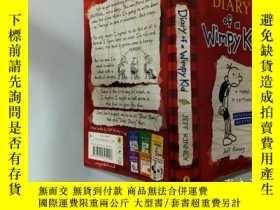 二手書博民逛書店Diary罕見of a wimpy kid:一個懦弱的孩子的日記Y200392