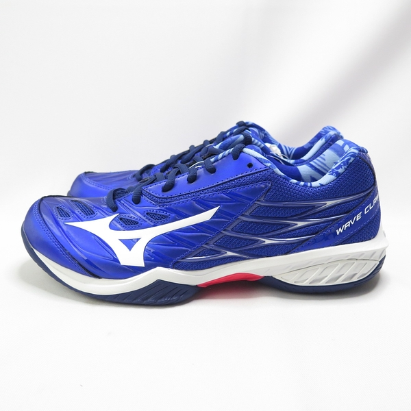 Mizuno CLAW 桌排羽球鞋 男款 71GA191520 3E楦 藍【iSport愛運動】