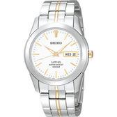 【僾瑪精品】SEIKO 精工 經典簡約俐落時尚腕錶-銀x白/37mm/7N43-0AR0KS(SGG719J1)