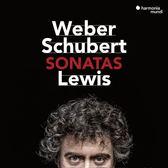 【停看聽音響唱片】【CD】韋伯 & 舒伯特:鋼琴奏鳴曲 保羅.路易斯 鋼琴