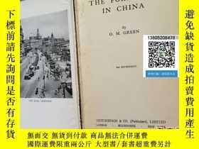 二手書博民逛書店【罕見原版 】在中國的外國人 FOREIGNER IN CHIN