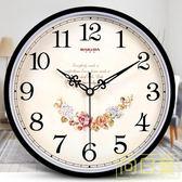 掛鐘 巴科達鐘錶掛鐘客廳現代簡約個性時鐘家用靜音創意時尚掛錶石英鐘