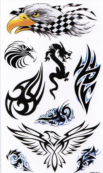 薇嘉雅        超炫圖案紋身貼紙 HM184