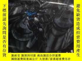 二手書博民逛書店雜誌海報一張罕見機動戦士ガンダムSEEDポスター,機動戰士高達S