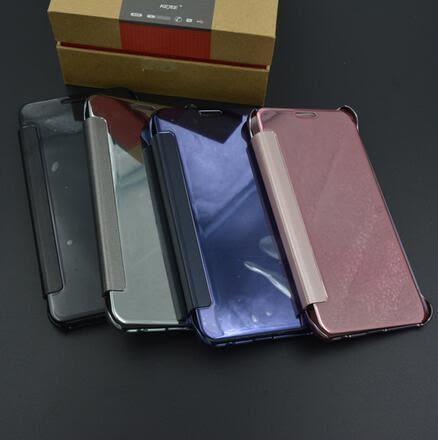 【SZ34】三星C7 PRO手機殼立體鏡面皮套 C9pro透視免拆蓋手機保護套 C5手機殼