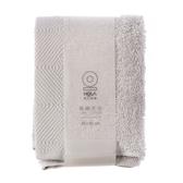 HOLA 埃及棉方巾-亮銀30x30cm