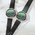 法版小眾手手錶女森女年學生簡約氣質輕奢小眾女手錶小手錶盤 ◣怦然心動◥
