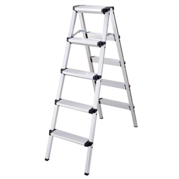 便攜折疊加厚室內人字梯家庭樓梯裝修鋁合金家用梯攝影安全梯igo   韓小姐
