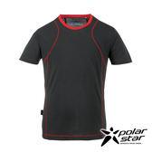 PolarStar 男 排汗快乾圓領T恤『炭灰』P17131 吸濕排汗透氣T-shirt短袖運動服瑜珈休閒服短袖透氣