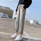 燈籠褲女春秋薄款顯瘦運動褲女寬鬆束腳2020新款哈倫灰色休閒衛褲 依凡卡時尚