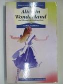 【書寶二手書T2/原文小說_A2T】Alice in Wonderland_Lewis Carroll