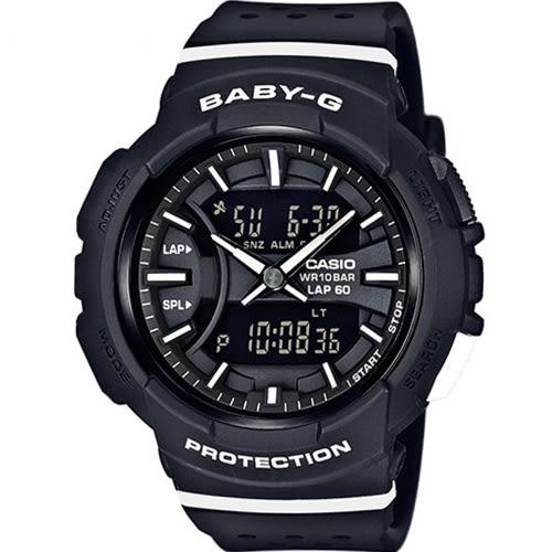 CASIO Baby-G 城市慢跑運動錶 BGA-240-1A1D 黑