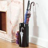 雨傘架家用小收納置物酒店大堂鐵藝高檔簡約北歐門口放傘桶神器