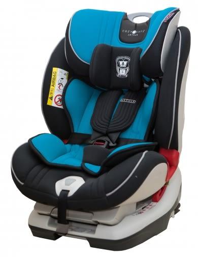 [ 家事達 ] COZY N SAFE(安可仕) 汽車安全座椅-藍色   特價 ISO-FIX汽座