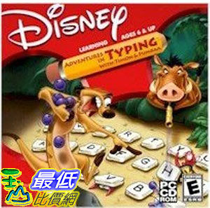 [美國直購 ShopUSA] DISNEY - ADVENTURES IN TYPING W/ TIMON $1680