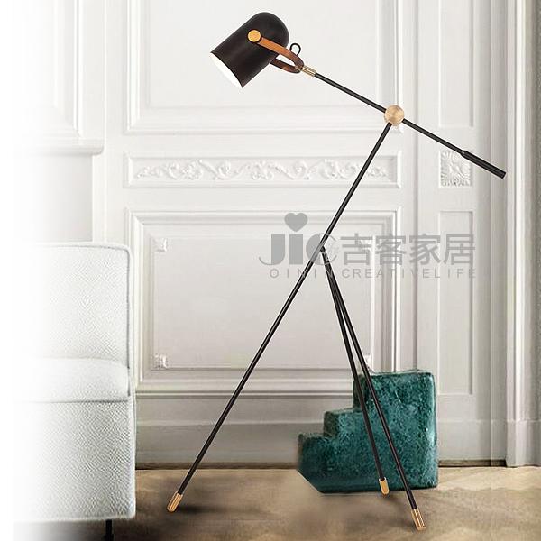 [吉客家居] 落地燈 JW065-65A 金屬烤漆造型時尚後現代工業餐廳民宿咖啡館居家