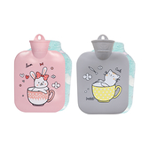 【超人百貨】KINYO 冷暖兩用水袋 兔兔 貓咪 WB9019 熱水袋 冷水袋 PP耐熱瓶口 安全環保重複使用