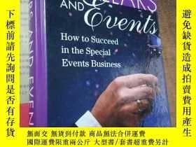 二手書博民逛書店DOLLARS罕見AND EVENTS:How to succeed in the special Events
