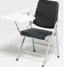 【南洋風休閒傢俱】白宮折合椅(有寫字版) 休閒椅 摺疊椅 洽談椅 集會用椅 教室用椅(535-9)