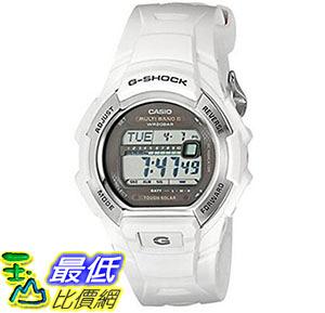 [美國直購] 手錶 Casio Mens G-Shock Solar Atomic White Watch B019J7ZZ86