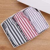 3條裝阿羅褲男士純棉寬鬆透氣平角內褲 夏季青年運動短褲家居睡褲 小巨蛋之家