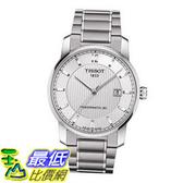 [COSCO代購] Tissot T-Classic 系列鈦合金自動機芯機械男錶 _W982772